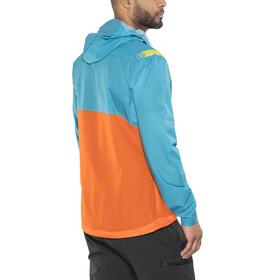 La Sportiva Hail - Veste Homme - orange/turquoise